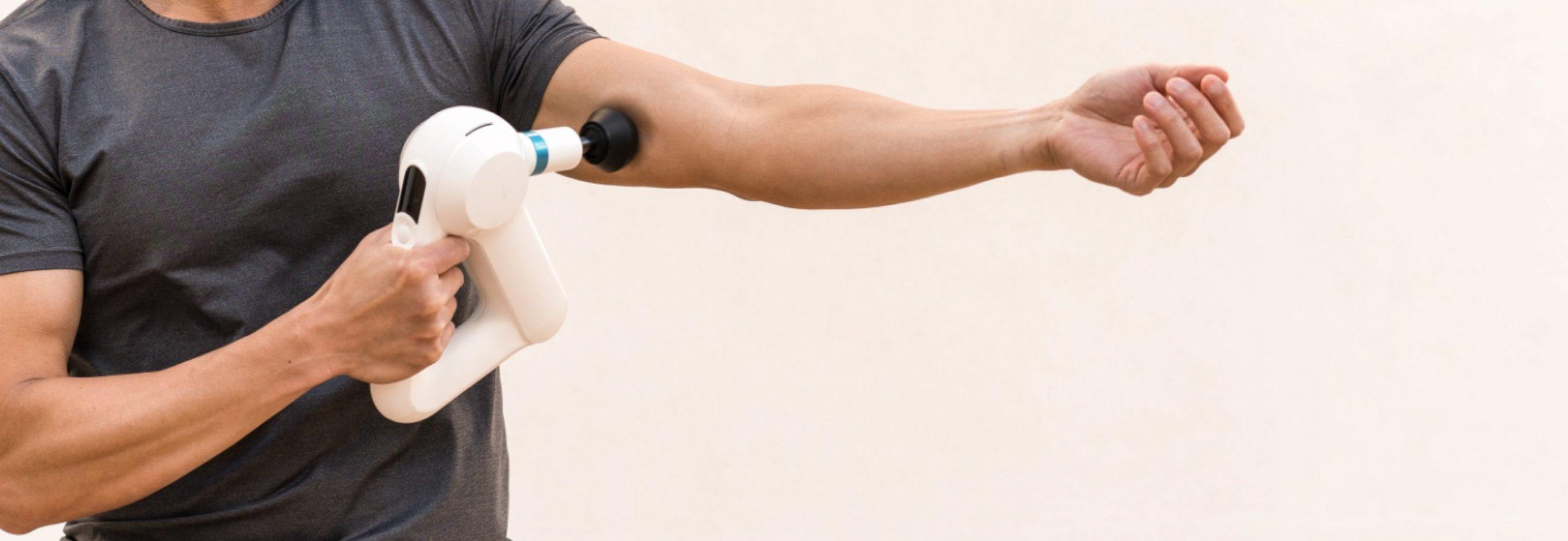 How Massage Guns Can Help With Shin Splints